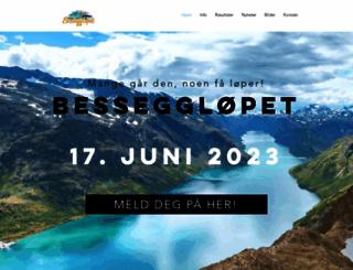 bessegglopet.no screenshot