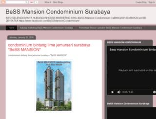 bessmansioncondominiumsurabaya.blogspot.co.id screenshot