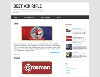 best-air-rifle.blogspot.com screenshot
