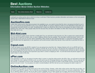 best-auctions.org screenshot