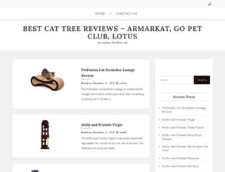 best-cat-tree-reviews.com screenshot