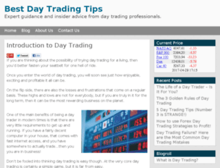 best-daytradingtips.com screenshot