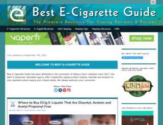 best-e-cigarette-guide.com screenshot