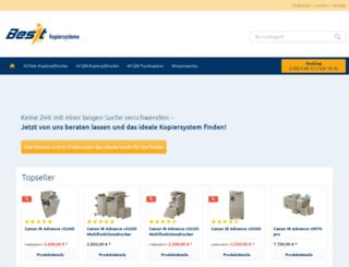 best-kopiersysteme.de screenshot