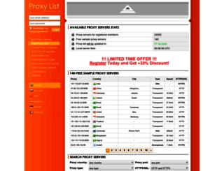 best-proxy.com screenshot