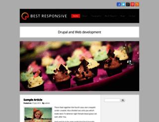 best-responsive.techsaran.com screenshot