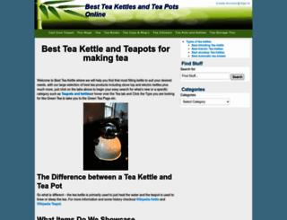 best-teakettle.com screenshot