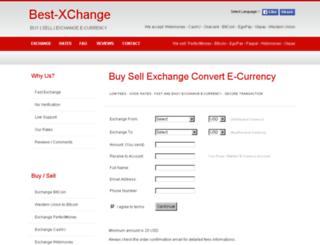 best-xchange.com screenshot