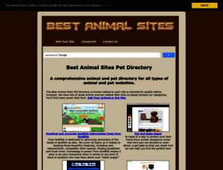 bestanimalsites.com screenshot