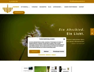 bestattung-kaernten.at screenshot