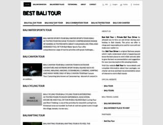 bestbalitour.blogspot.com screenshot