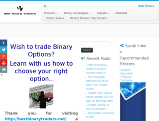 bestbinarytraders.net screenshot