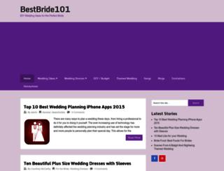 bestbride101.com screenshot