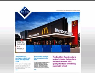 bestbuyaward.org screenshot
