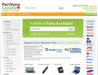 bestbuycanada.partsearch.com screenshot