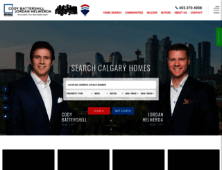 bestcalgaryhomes.com screenshot