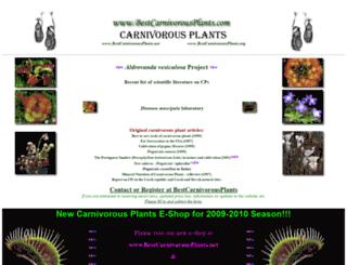bestcarnivorousplants.com screenshot
