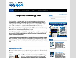 bestcellphonespyapps.com screenshot