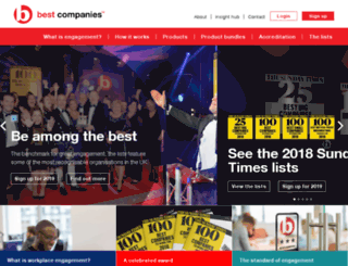 bestcompanies.co.uk screenshot