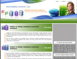 bestdatabaseconverter.com screenshot