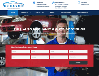 bestdealsauto.ca screenshot