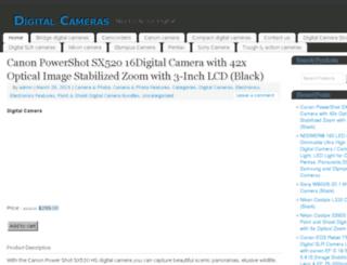bestdigitalcameras.890m.com screenshot