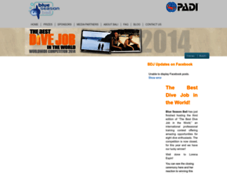 bestdivejob.com screenshot