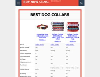 bestdogcollar.net screenshot