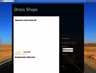 bestdressshops.blogspot.com screenshot