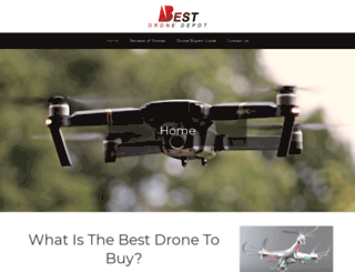 bestdronedepot.com screenshot