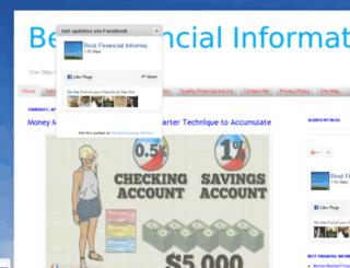 bestfinancialinformations.com screenshot