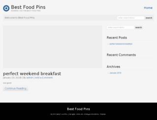 bestfoodpins.com screenshot