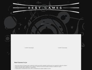 bestgames.cenega.cz screenshot