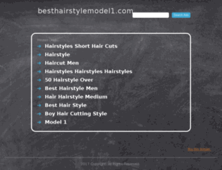 besthairstylemodel1.com screenshot