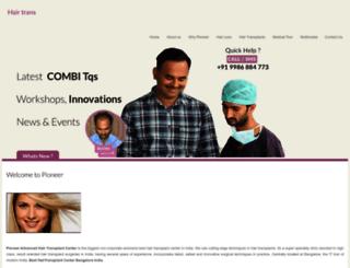 besthairtransplantindia.com screenshot