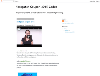 besthostgatorcoupon2015.blogspot.com screenshot