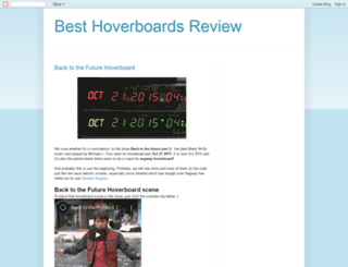 besthoverboards.blogspot.sg screenshot