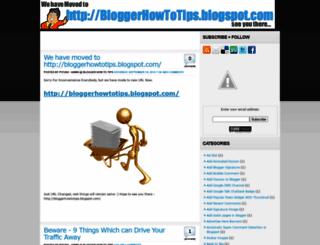 besthowtoblogger.blogspot.com screenshot
