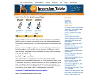 bestinversiontable.com screenshot