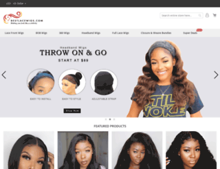 bestlacewigs.com screenshot