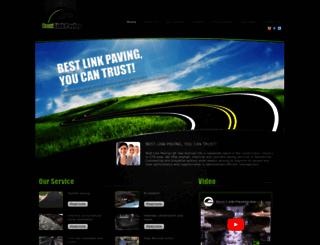 bestlinkpaving.com screenshot