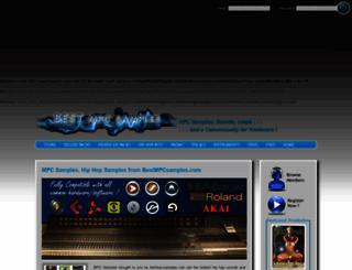 bestmpcsamples.com screenshot