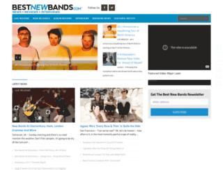 bestnewbands.com screenshot