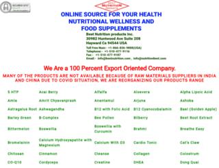 bestnutrition.com screenshot