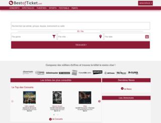 bestofticket.com screenshot