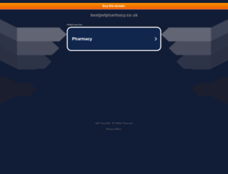 bestpetpharmacy.co.uk screenshot