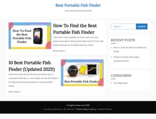 bestportablefishfinder.com screenshot