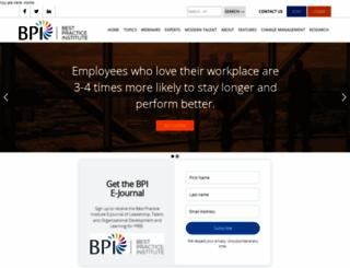 bestpracticeinstitute.org screenshot