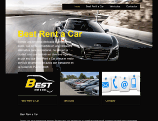 bestrentacar.cl screenshot