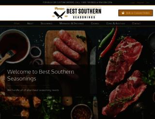bestsouthernseasonings.com screenshot